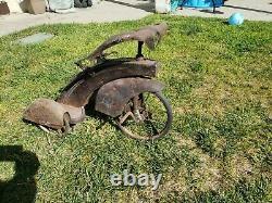 Rare Vintage 12 Art Deco Streamline 30's Tricycle