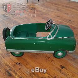 Rare Vintage 1940s-1950s BMC Pedal Car Unrestored & Working All Original PRE-AMF