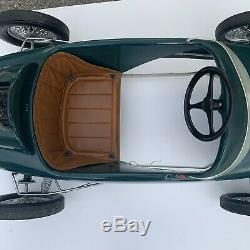 Rare Vintage 1960s Lotus Powered By Ford Pedal Car By Pines Amazing Survivor