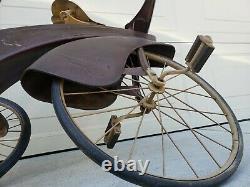 Rare Vintage 20 Art Deco Streamline 30's Tricycle