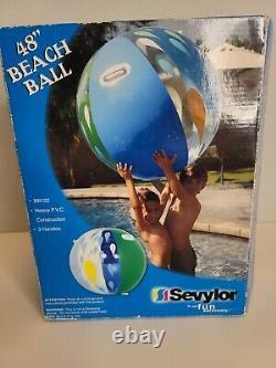 Rare Vintage 48 Sevylor Beach Ball New