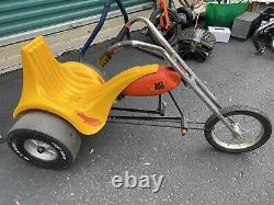 Rare Vintage AMF Junior Hot Seat Pedal Chopper / 3 Wheeler Trike Working