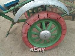 Rare Vintage Child Toddler Buggy Stroller Wagon Outdoor Ride USSR
