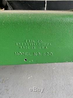 Rare Vintage ERTL 520 John Deere Pedal Tractor Antique