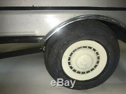 Rare Vintage Metal 1970s Mercedes Benz 650 JS Pedal Car