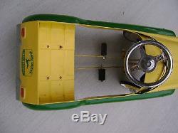 Rare Vintage Metal Gearbox Cedar Rapids Iowa John Deere Original Toy Pedal Car