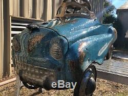 Rare Vintage Original Murray Pressed Steel Pedal Car