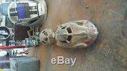 Rare vintage no. 7 peru, ind playmate toy aluminum cast