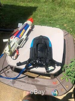 Refurbished Vintage 90s Larami Super Soaker CPS 3000 with Backpack Water Gun