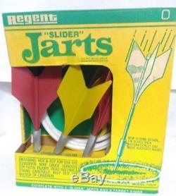 Regent Slider Jarts, Vintage (new in box)