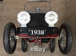 Replica 1938 Model T Roadster Replica Pedal Car Vintage NICE FREE SHIPPING