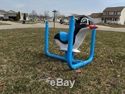 Restored Vintage Playground spring Ride Penguin SWING VERSION