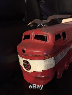 Ride On Toy Train Canadian National Vintage