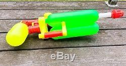 SUPER SOAKER 200 Original 1990 Larami Water Squirt Gun Vintage WORKS -SALE