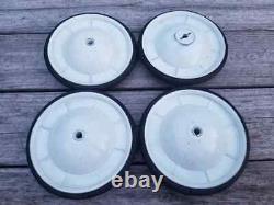 Set of (4) Vintage NOS AMF Pedal Car Wheels & Tires