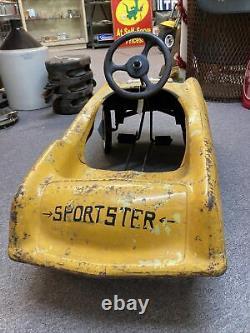 Studebaker T Bird Sportster Vintage Pedal Car