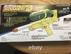 Super Soaker 50 Vintage 1990 Squirt Gun-Never Opened