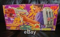 Super Soaker Power Pak Vintage 1998 Larami Water Gun Charger Incomplete box