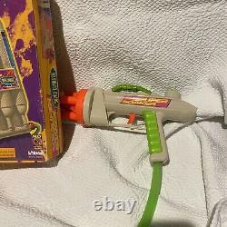 Super Soaker super charger big trouble backpack constant pressure water gun Vtg