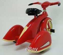 Tricycle 1930 Trike Bike Vintage Antique RedYello Classic Metal READ DESCRIPTION