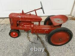 Unknown Maker Vintage Tractor Pedal Car