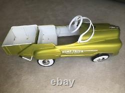 VINTAGERARE 1950's MURRAY SAD FACE DUMP TRUCK PEDAL CAR
