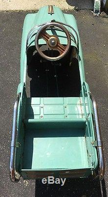 Vintage 1950s Murray Estate Wagon Pedal Car Antique