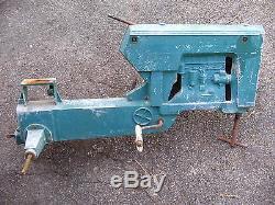 VINTAGE 1950s ESKA OLIVER 88 PEDAL TRACTOR DEERE RARE BARN FIND TOY RESTORE