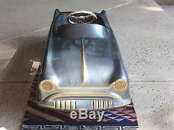VINTAGE 1950s GARTON KIDILLAC STEEL PEDAL CAR ORIGINAL EXCELLENT SHAPE! CADILLAC