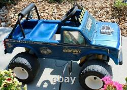 VINTAGE 1980s POWER WHEELS BIGFOOT RIDE ON 4x4 MONSTER TRUCK NO BATTERY UNTESTED