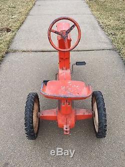 Vintage Allis-chalmers 200 Pedal Tractor Ertl Eska Rare L@@k