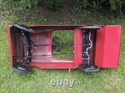 VINTAGE AMF FIRETRUCK UNIT NO. 508 Pedal Car