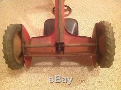 Vintage Bmc Chain Drive Pedal Tractor