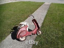 VINTAGE Chain Drive Pedal Scooter