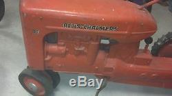 Vintage Eska Allis Chalmers Ca Pedal Tractor Survivor Complete