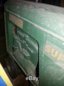 VINTAGE ESKA OLIVER PEDAL TRACTOR SUPER 88 ORIGINAL