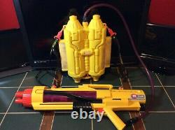 VINTAGE LARAMI SUPER SOAKER CPS 3200 Water Gun and Backpack TESTED & WORKING