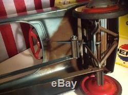 VINTAGE MURRAY CHARGER PEDAL CAR! ORIGINAL UNRESTORED