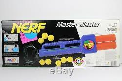 VINTAGE NERF Rare Master Blaster Dart Toy Gun Kenner 1991 FACTORY SEALED