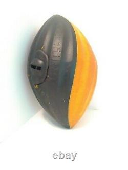 VINTAGE NERF TURBO SCREAMER Football Orange/Black 1989 RARE FAST SHIPPING