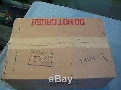 VINTAGE NOS BMC AMF PEDAL CAR TRUCK METAL RED SCOOP SHOVEL PLOW #B-540 With BOX