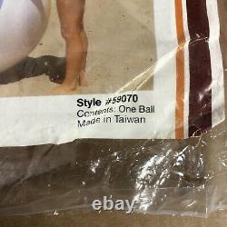 VINTAGE New Intex INFLATABLE JUMBO 48 BEACH BALL The Wet Set 1983 80s
