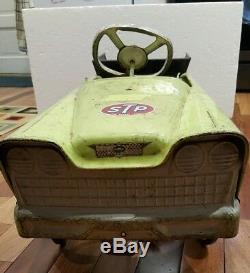 VINTAGE ORIGINAL 1950's MURRAY PEDAL CAR EARTH MOVER DUMP TRUCK