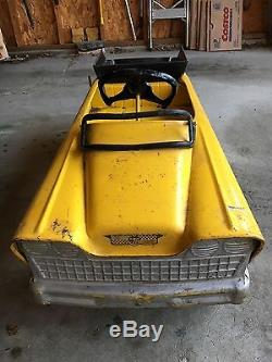 VINTAGE ORIGINAL 1950's MURRAY PEDAL CAR - EARTH MOVER TRUCK