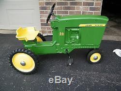 Vintage Original John Deere 20 Pedal Tractor Model D-65 Ertl Dyersville Iowa USA