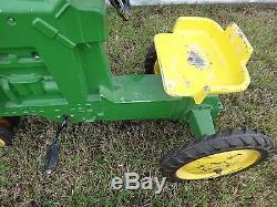 Vintage Original John Deere Pedal Tractor Model D-65