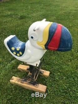 VINTAGE SADDLE MATES TOUCAN PLAYGROUND RIDE WITH SPRING by GAMETIME, INC