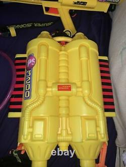 VINTAGE SUPER SOAKER CPS 3200 Water Gun and Backpack Rare Complete Working