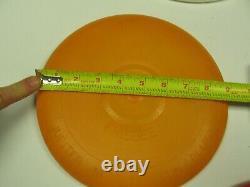 VINTAGE WHAM-O PLUTO PLATTER FRISBEE, Apricot Color
