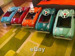 VNTG. MOSKVICH STUDEBAKER PEDAL CAR 70s LARGE TOY AZLK USSR CCCP SOVIET RUSSIA